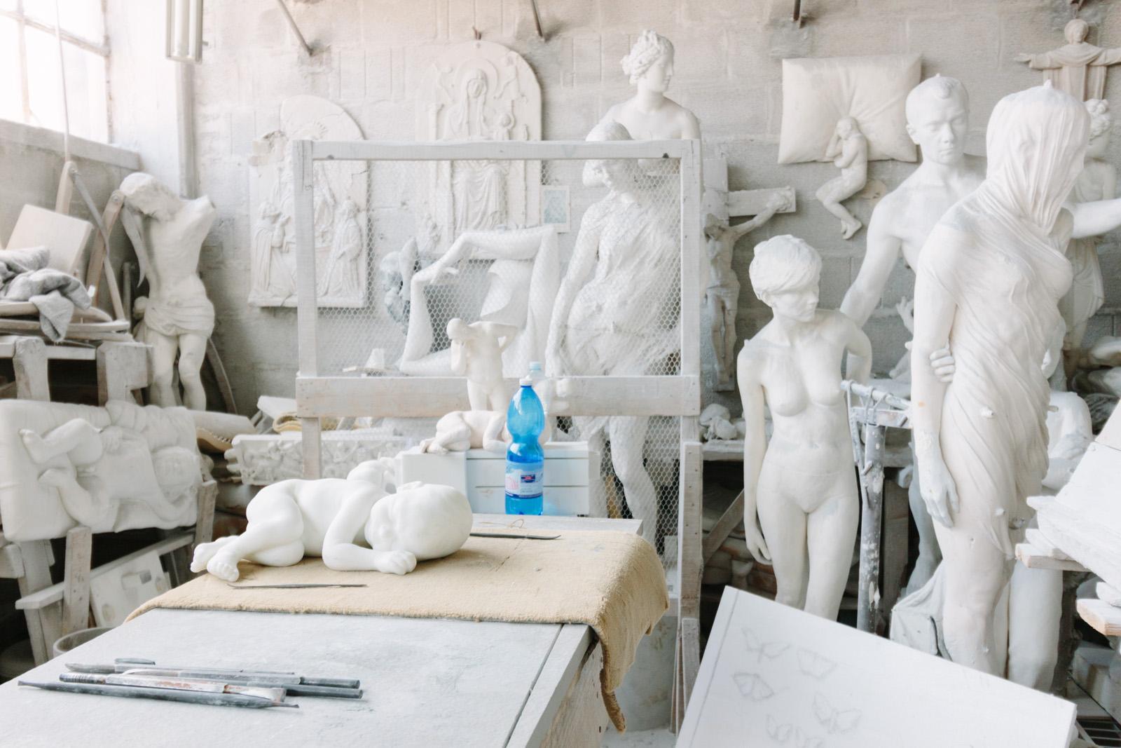 Marble Studio, Pietrasanta. Photo credit: Simon DesRochers