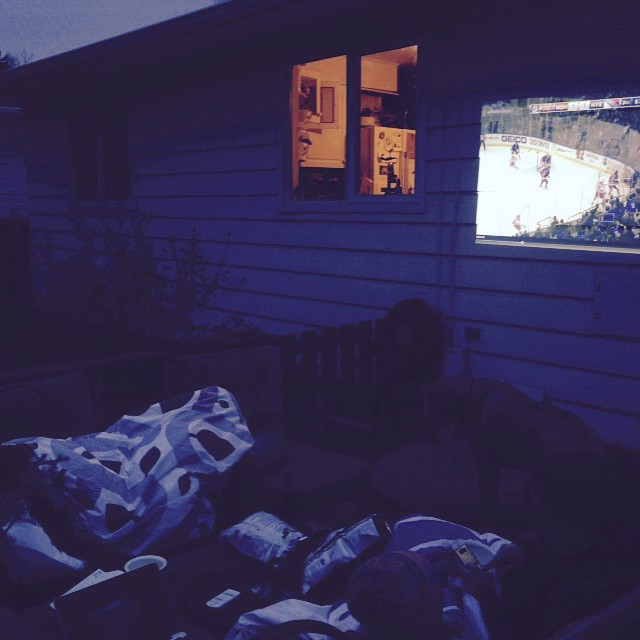 Hockey + Patio