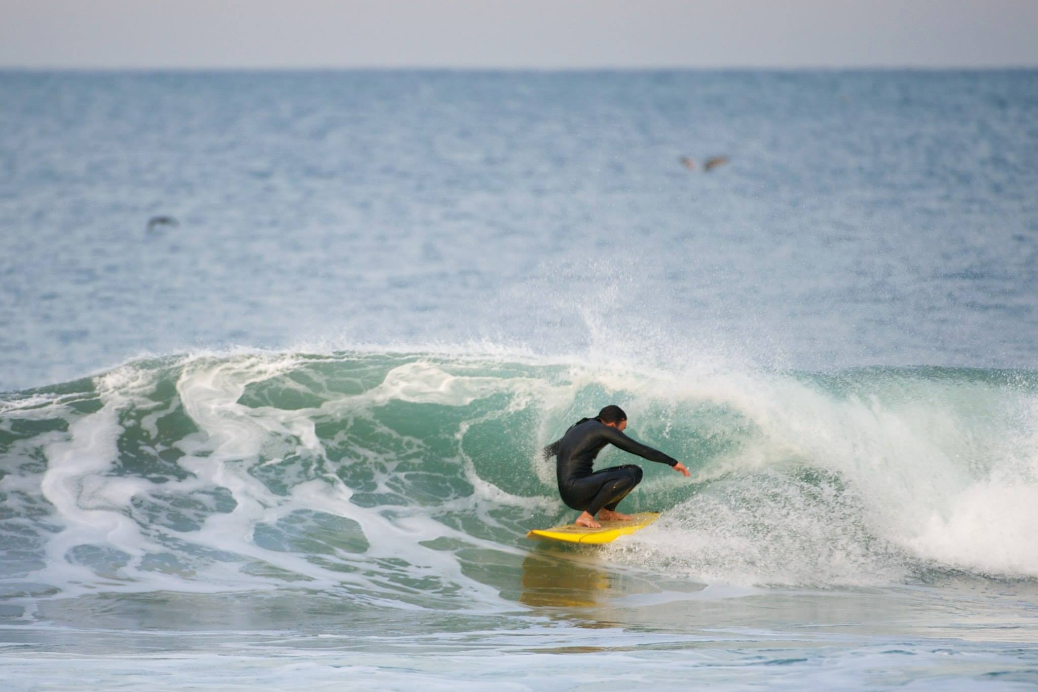 Layback lookback.  Photo: Richard Mattison