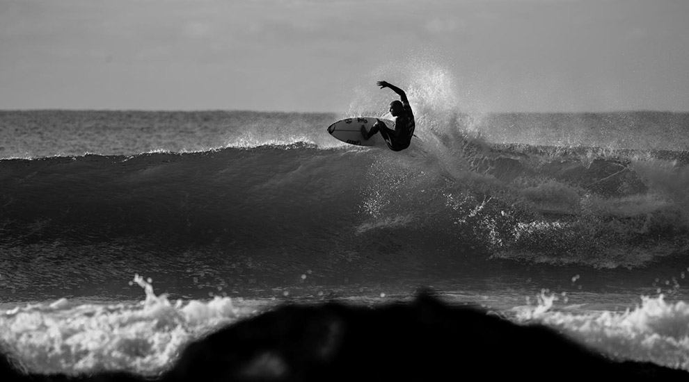 Mick Fanning in Rd 3 at the 2015 JBay Open. Photo taken from  Surfline.com .