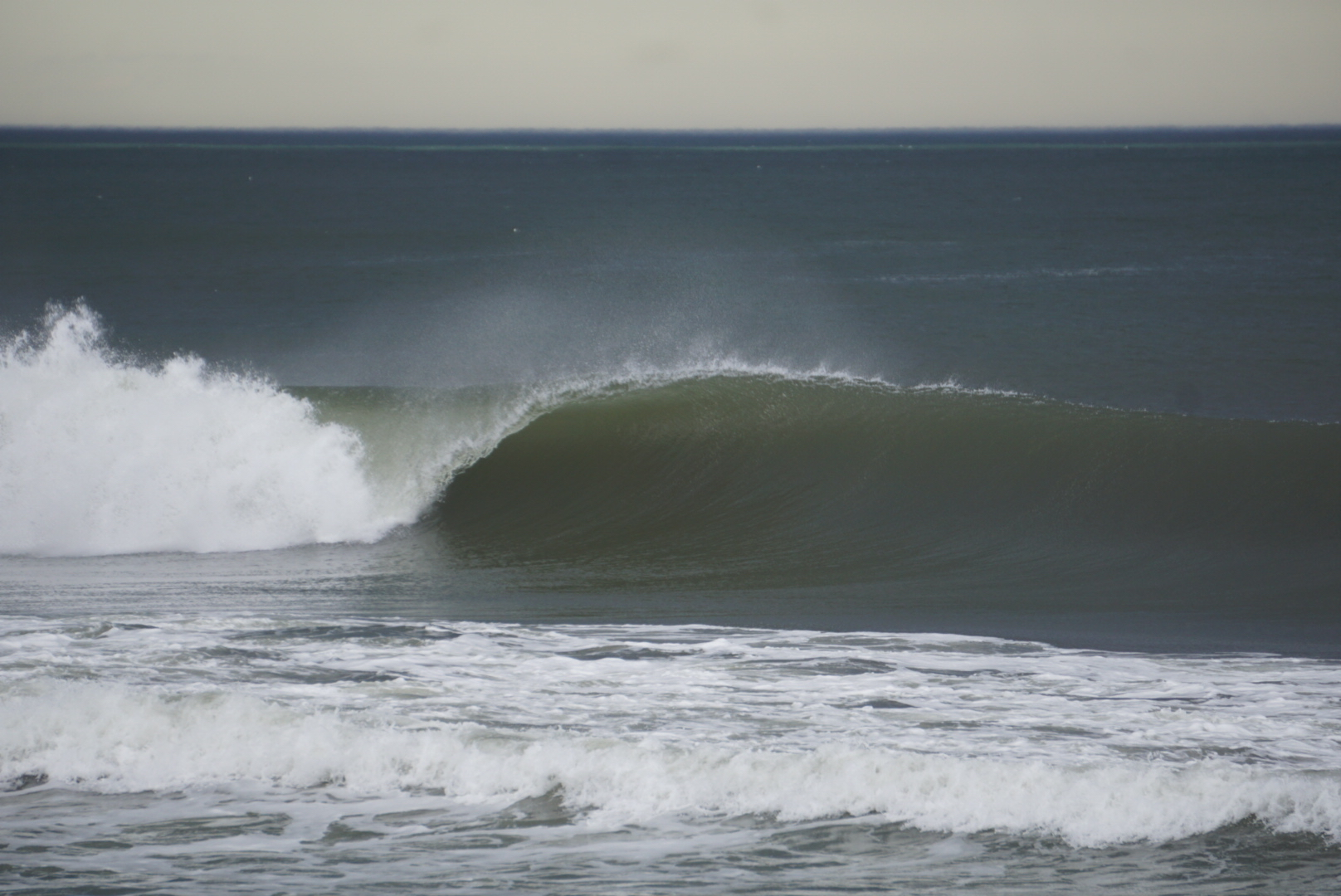 More lefts than usual in NJ. Photo: Dion Mattison