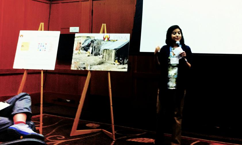 Upaya Social Ventures's Executive Director Sachi Shenoy presenting at the Social Venture Network 2012 Annual Gathering