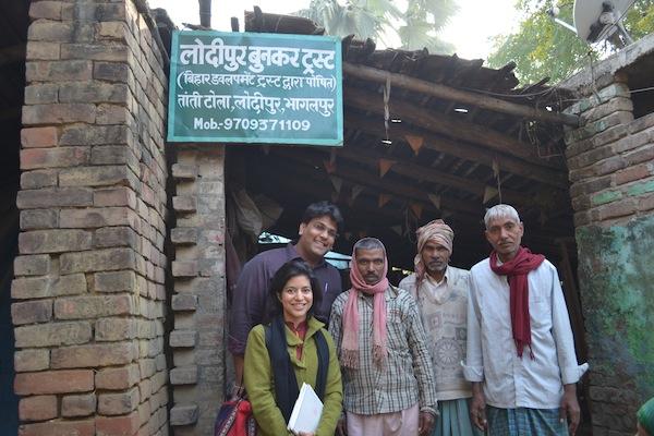 Shivanandan w/ Upaya team