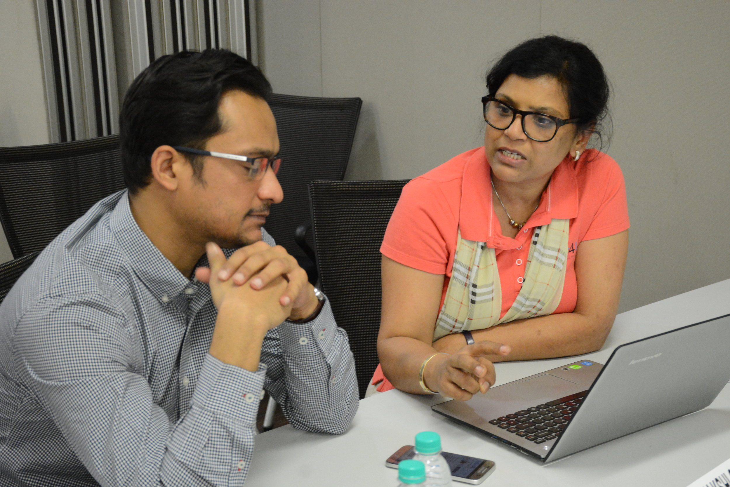 Aayush Jain, Unicorn Ventures  Meenakshi Gupta Jain, Helper4U