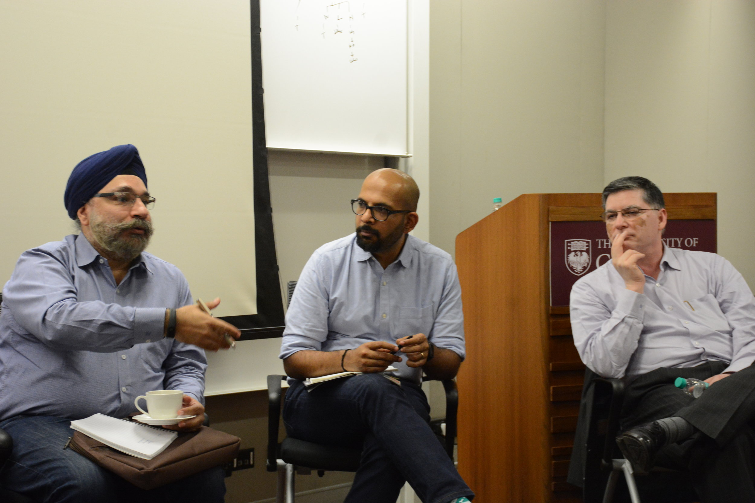 Subinder Khurana, Entrepreneur/Investor  Santhosh Ramdoss, Michael and Susan Dell Foundation  Dilip Chenoy, Startup Advisor, Formerly NSDC