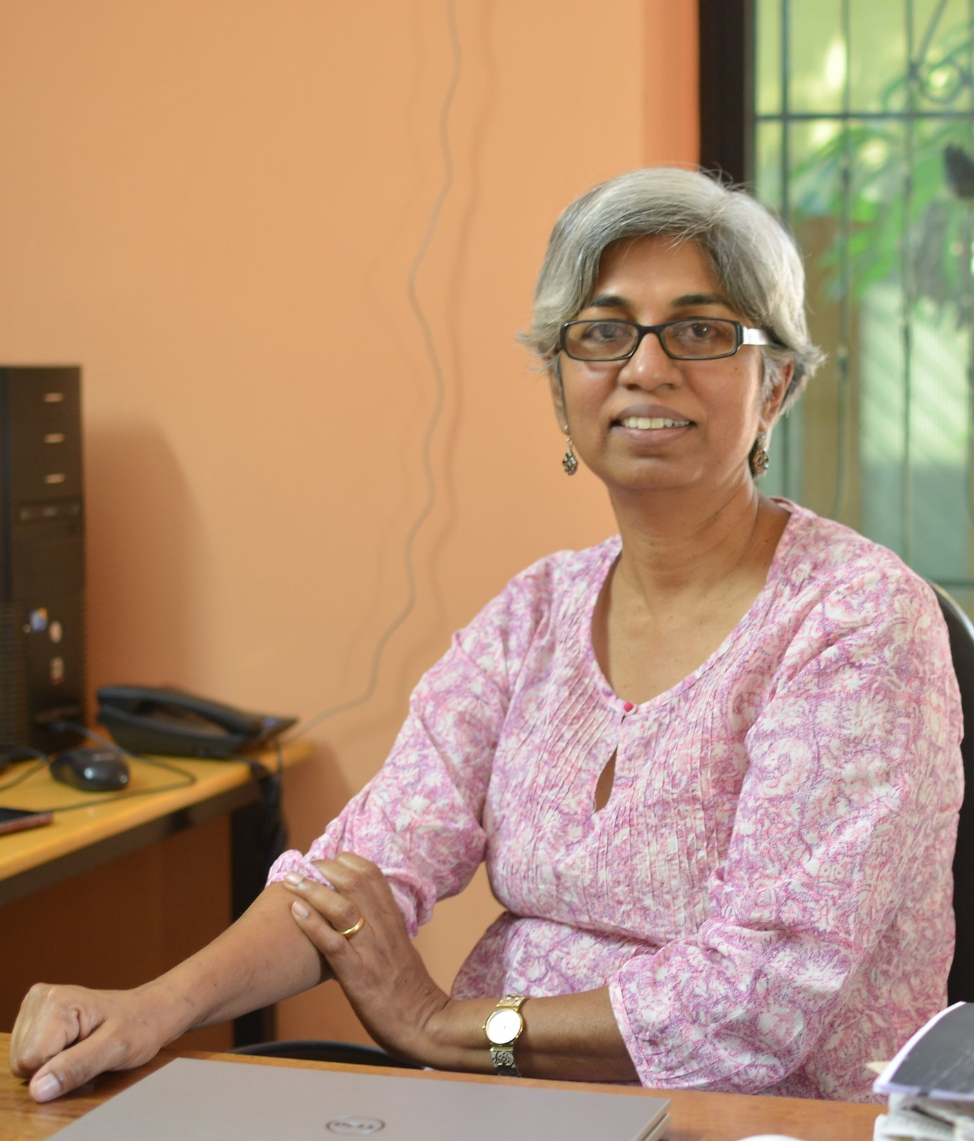 Wilma Rodrigues, Founder and CEO of  Saahas Zero Waste