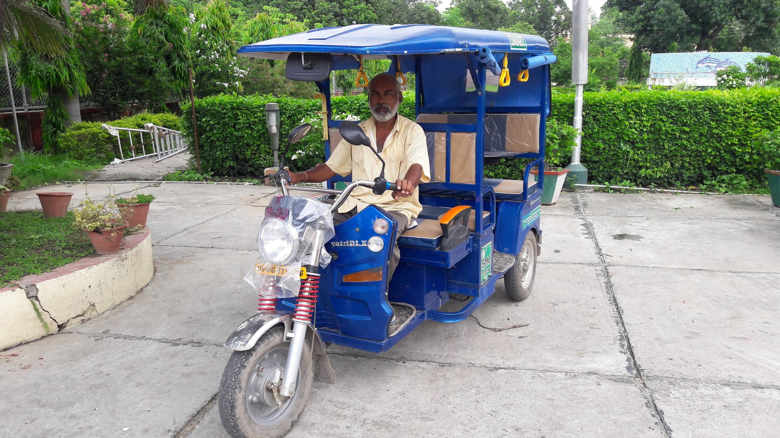 Rameesh, and SMV Rickshaw Driver