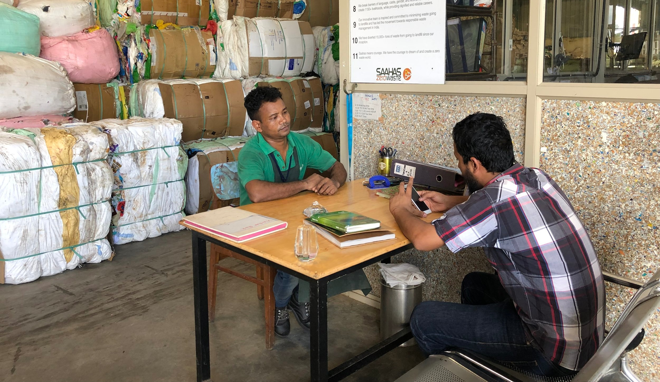 Jobholder surveys being conducted with Saahas Waste Management in Bangalore