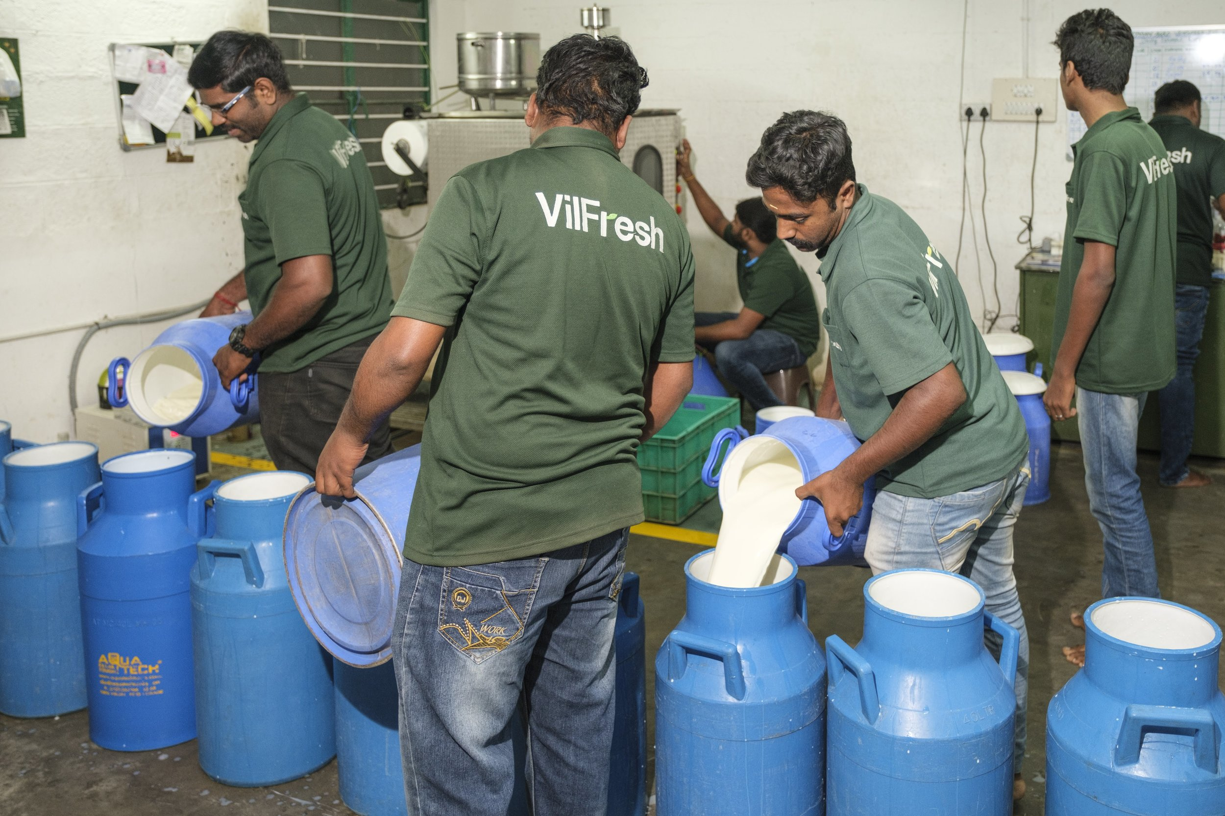 Laymen Agro employs underprivileged young men to process and deliver farm-fresh milk to urban households in Coimbatore.