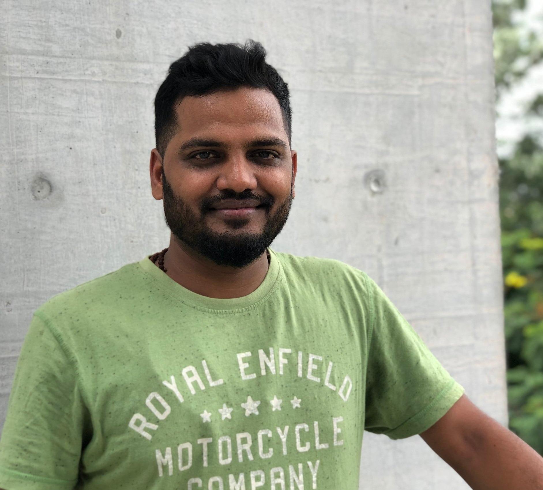 Ketan Parmar, Founder/CEO of Krishi Naturals