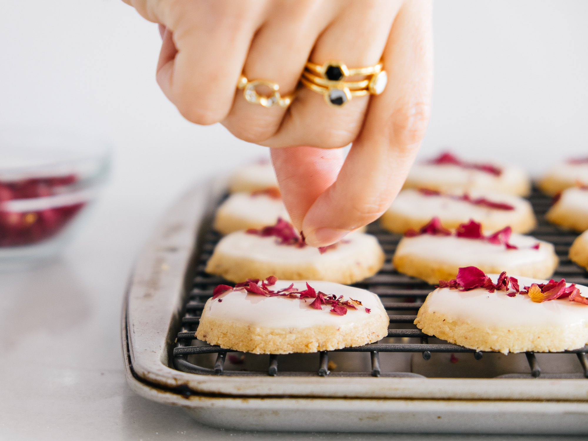If you're checking out my mini hex rings, they're  Shahla Karimi  (and I totally love them).