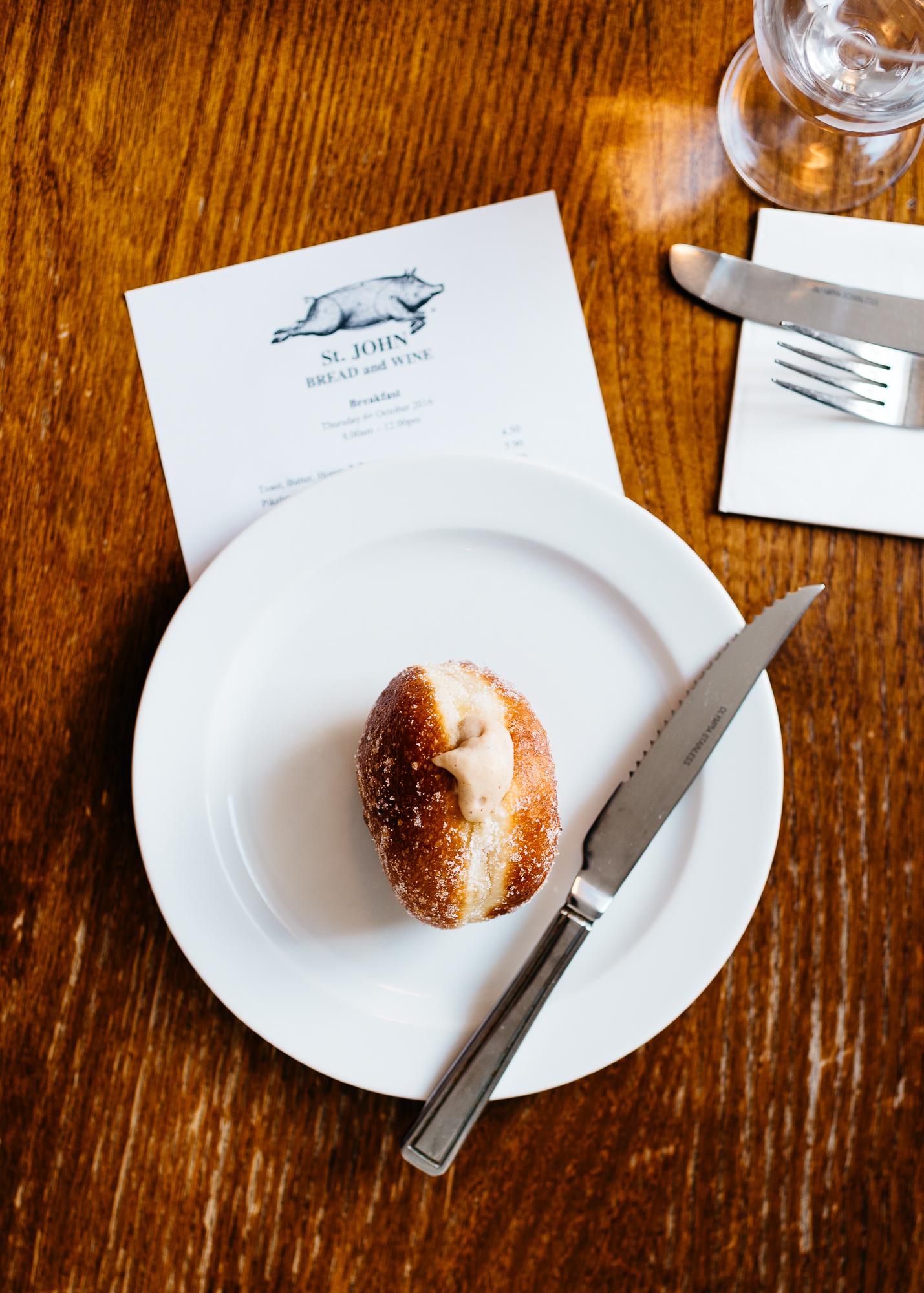 Apple cider doughnut from St. John Bread & Wine
