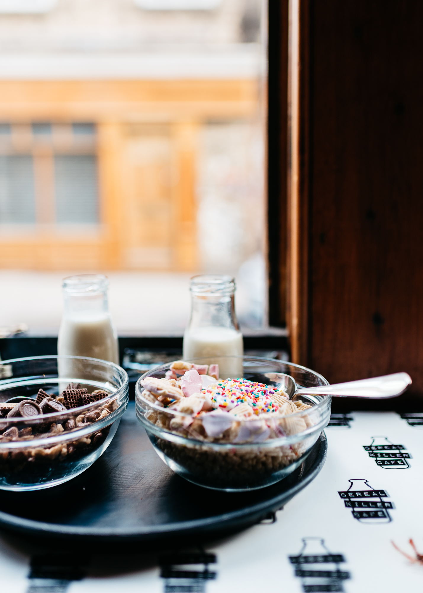 """The Lion King"" and ""Unicorn Poop"" at Cereal Killer Cafe"