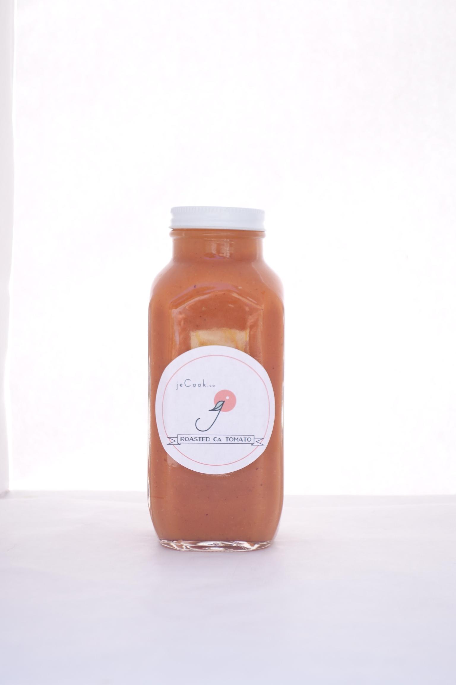 ROASTED CA TOMATO   ingredients:   costoluto tomato,onion, olive oil grapeseed oil, garlic,oregano, italian basil,pepper, salt,   Nutrition:   Vitamin C-Vitamin A - and VitaminE and K - iron - magnesepotassium - lycopene