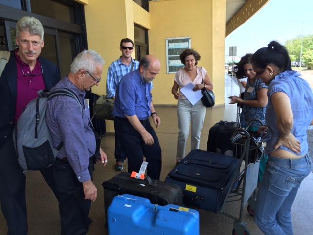 2015 Neurosurgery Team en route to Tarija, Bolivia.