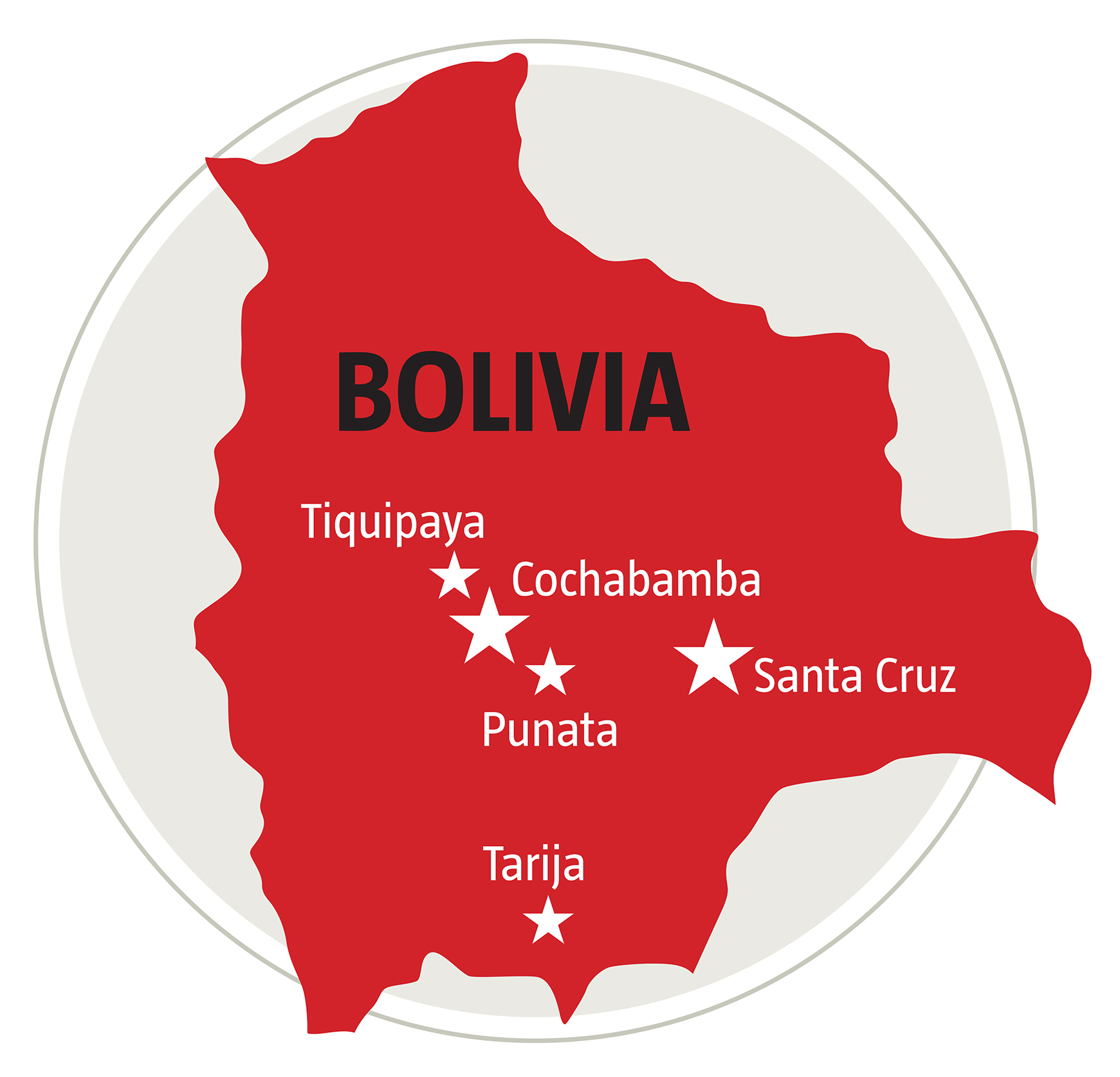 Where we work in Bolivia
