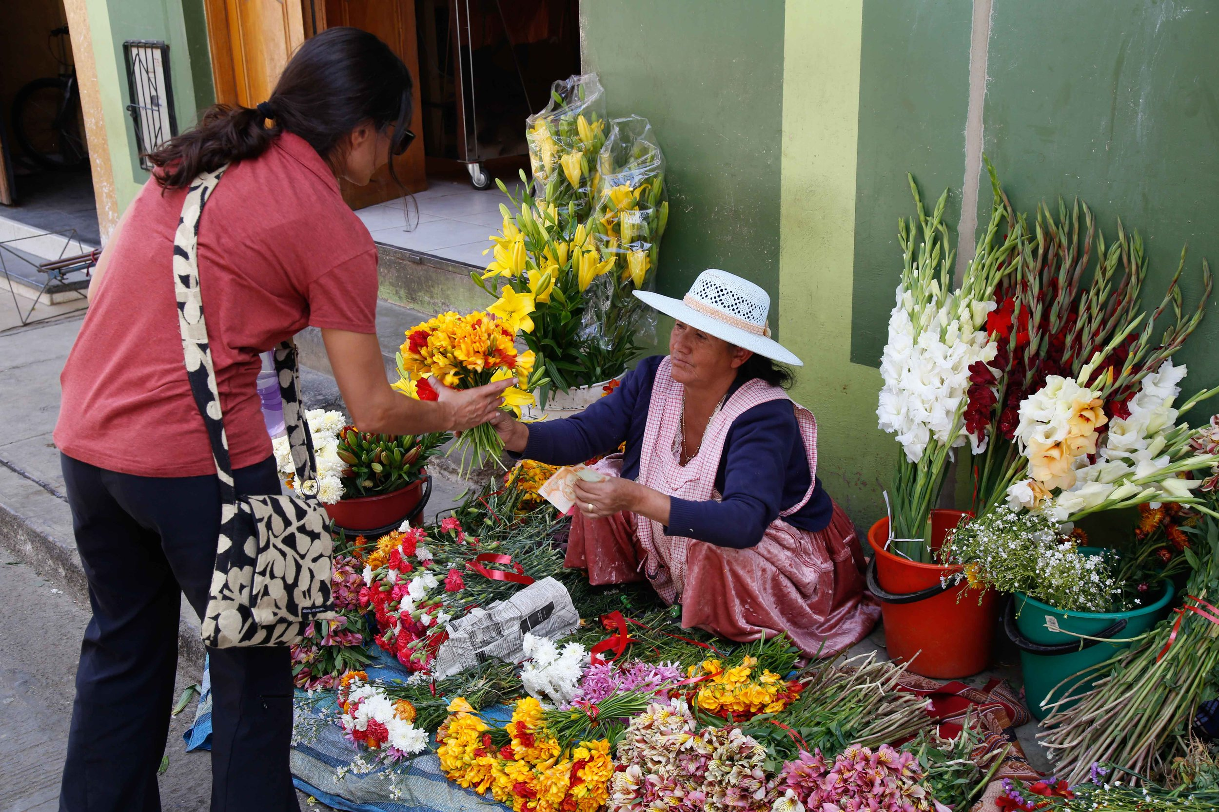 Shopping in the Marketplace