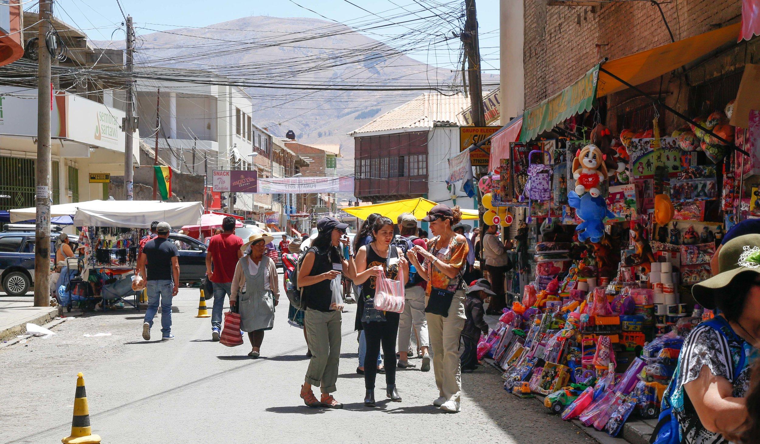Taking a Tour of Punata, Bolivia
