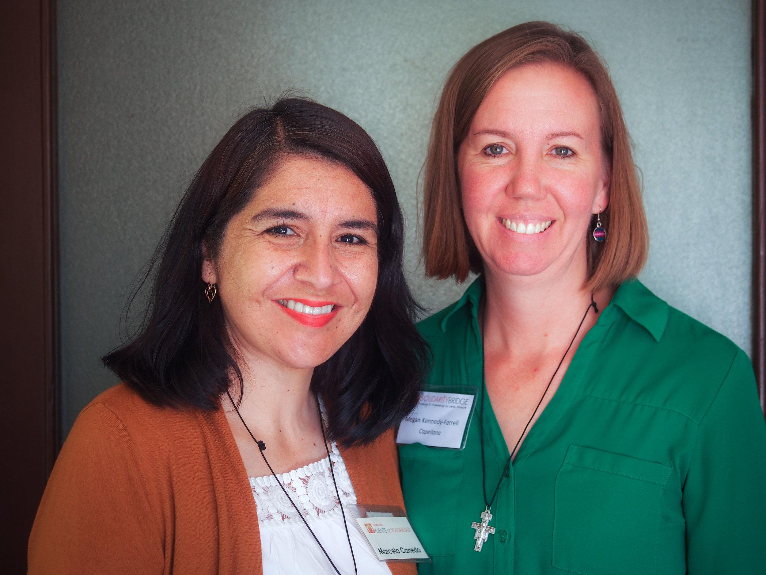 Trip Chaplains Marcela and Megan