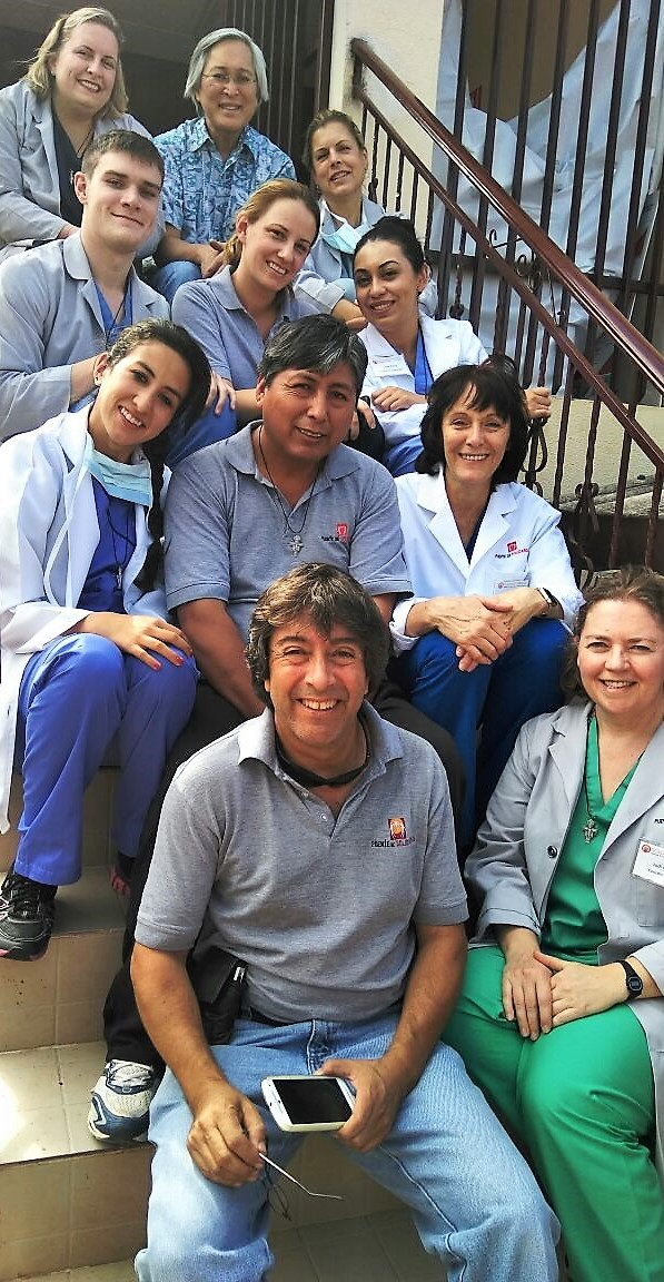Our 2017 Gyne Surgery Mission Trip Team (Jodi in green scrubs)