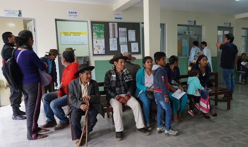 Patients during a recent campaign in MIzque