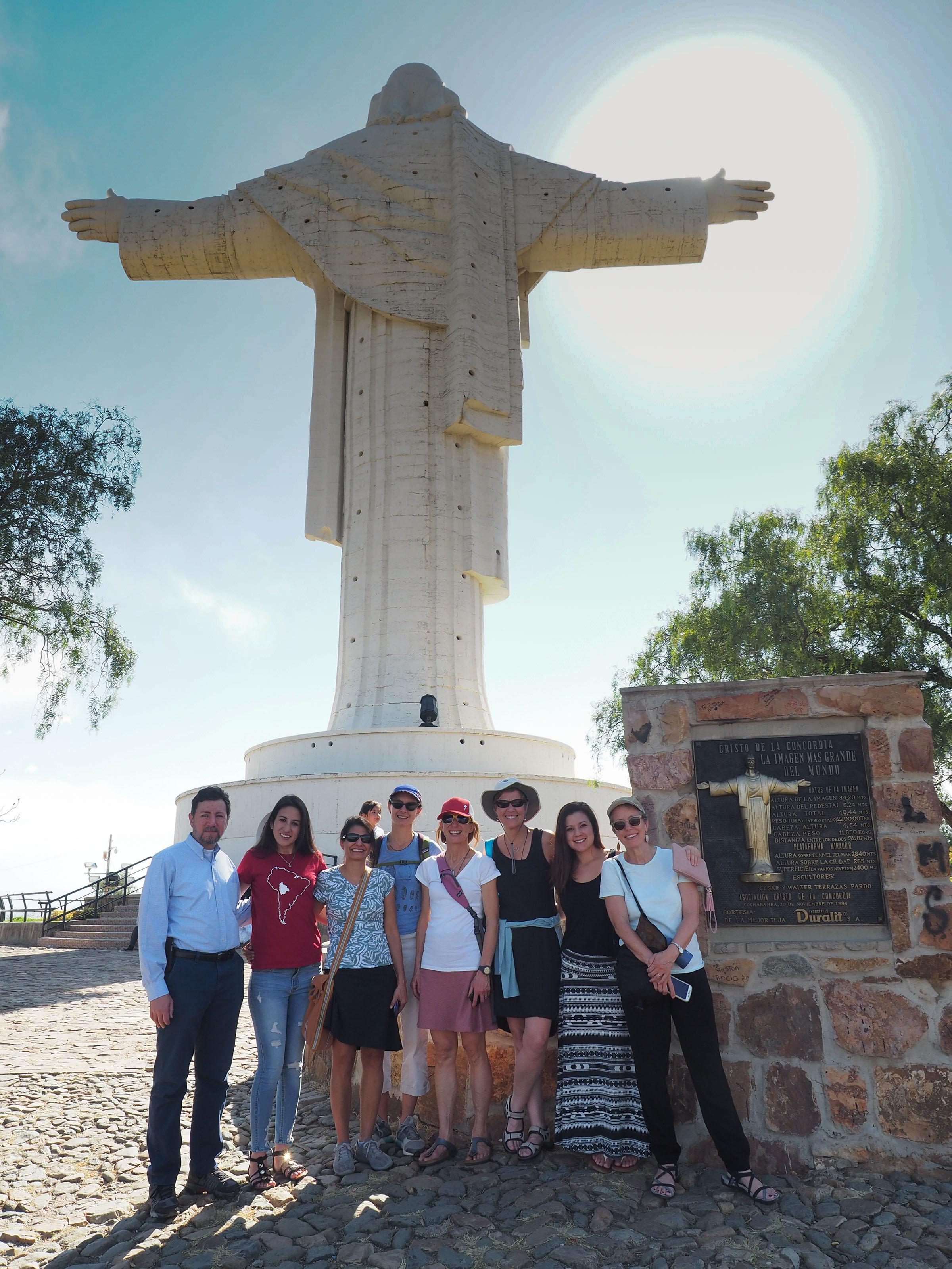 Visiting the Cristo