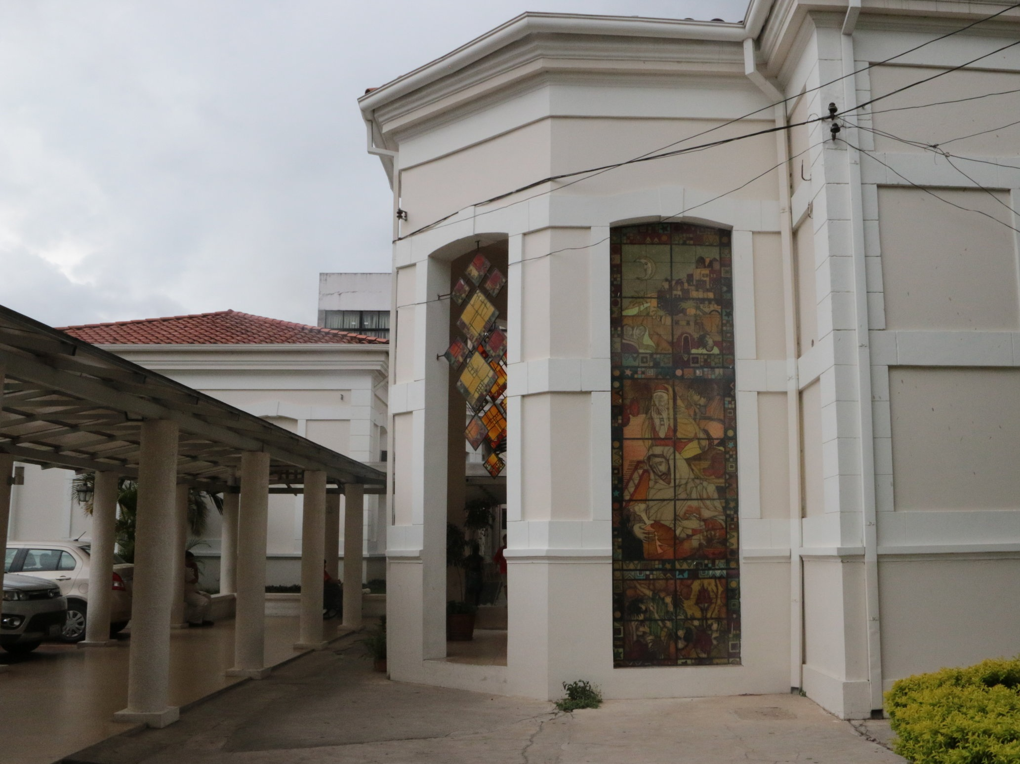 A chapel in the courtyard at the San Juan de Dios Hospital
