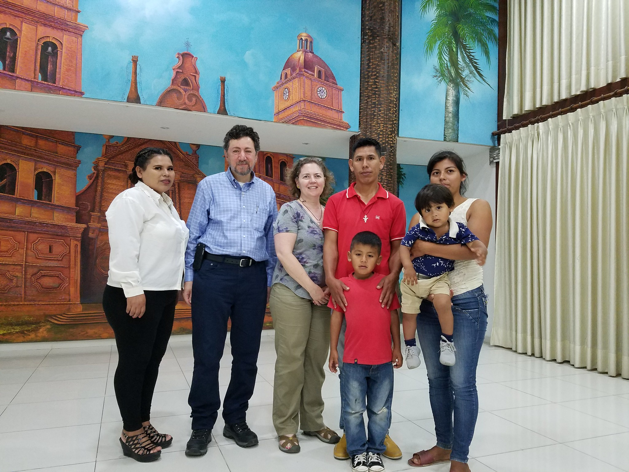 2019: Victor and his family visit with Dr. Khouzam and our mission team again in Santa Cruz