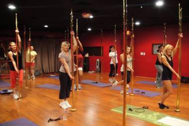 Booty Camp Class at Pole Fitness Studio