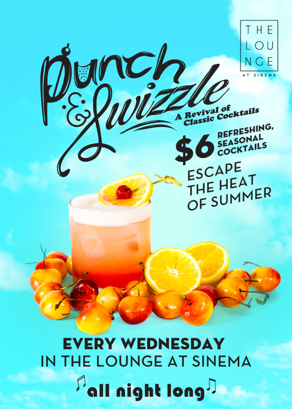 Punch & Swizzle | Lounge Sinema