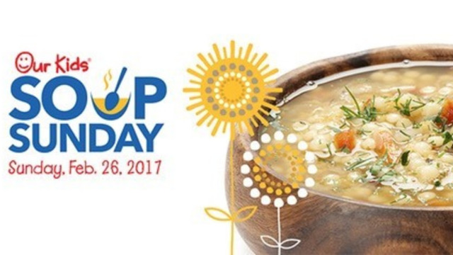 All hail, here is your annual reminder to get your Our Kids Soup Sunday tickets now before they sell out. This year's event is Sunday, Feb. 26, at Club West of Nissan Stadium (overlooking the Cumberland River). This is one of my favorite events of the year; dozens of restaurants bring their best soups (some from the menu, but plenty of special-edition soups) to compete for the honor of best soup as judged by a panel of   celebrity and expert judges  (including some past winners), as well as for the people's choice award. Read more on the  Nashville Scene.