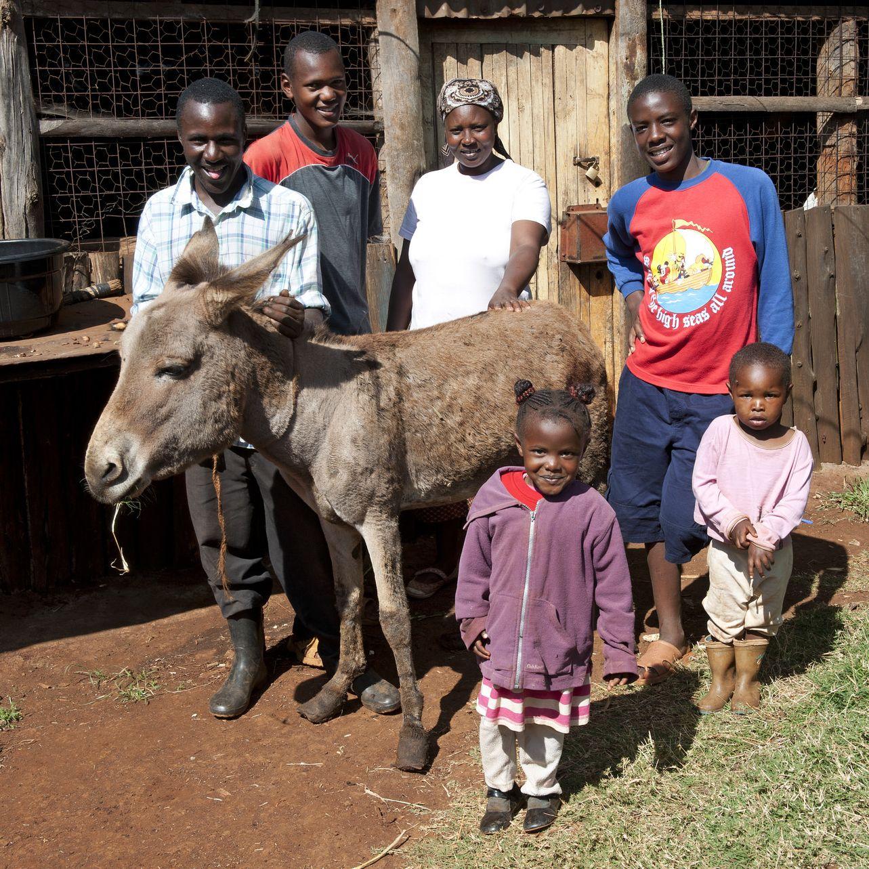 John Mbara Mbogo Family and Bob