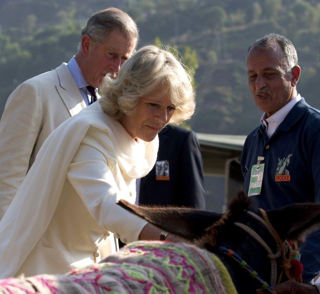 Her Royal Highness The Duchess of Cornwall visiting Brooke program in Pakistan