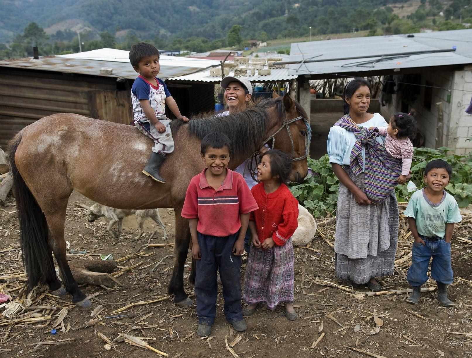 Guatemala Family