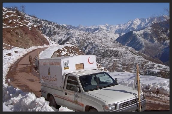 Our Brooke mobile veterinary units are able to reach animals in even remote areas.