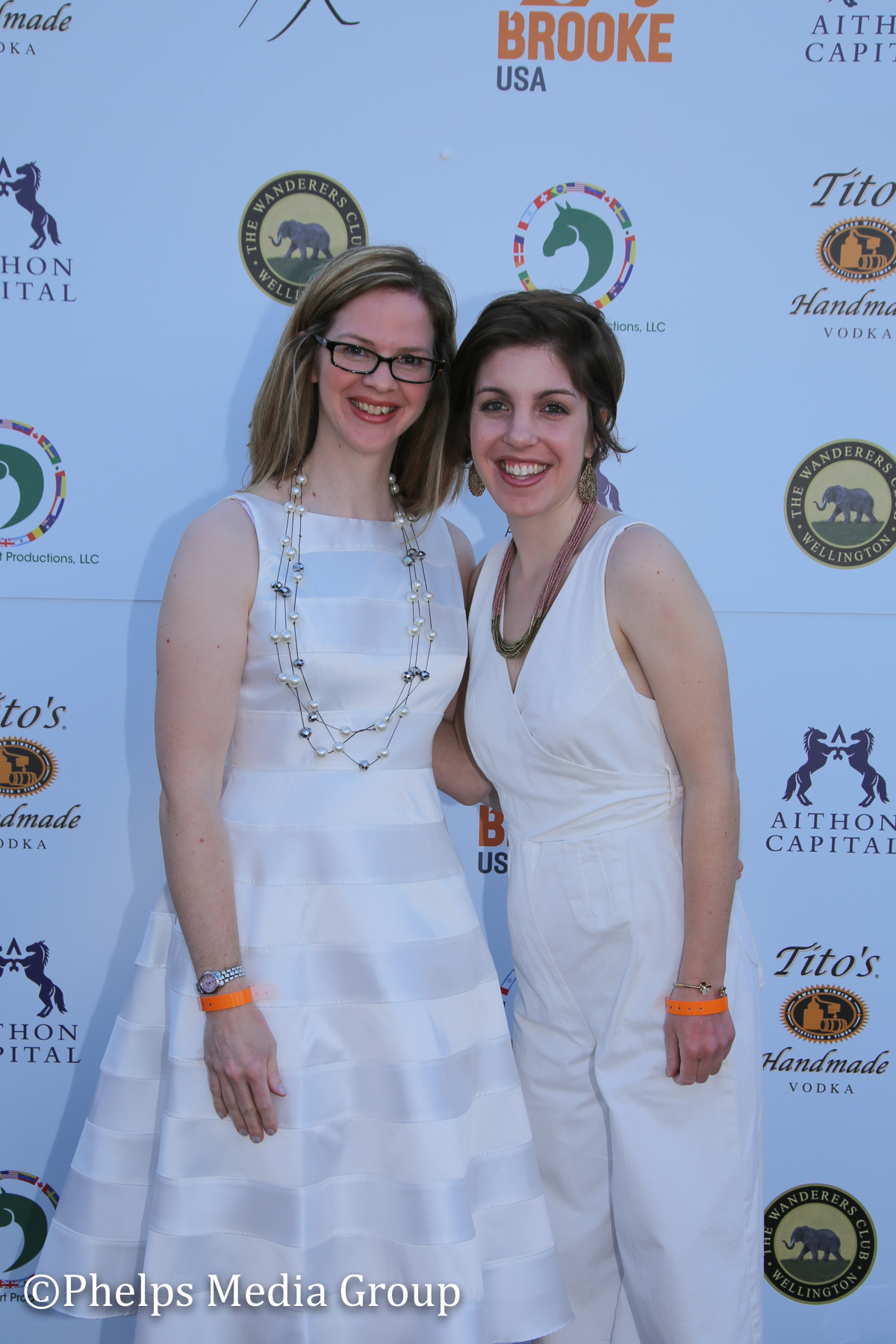 Amy Cairy and Alessandra Mele; Nic Roldan's 2nd Annual Sunset Polo & White Party, FL, by Phelps Media.jpg
