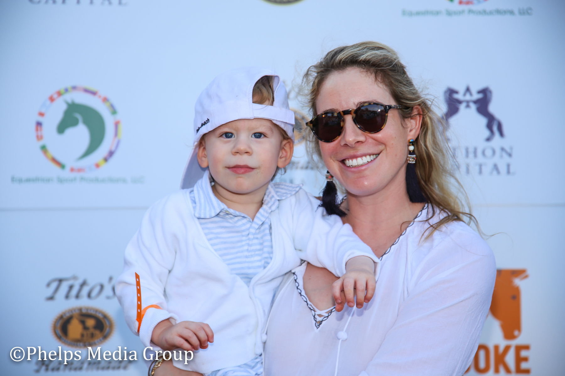 Caroll and William Irwin; Nic Roldan's 2nd Annual Sunset Polo & White Party, FL, by Phelps Media.jpg