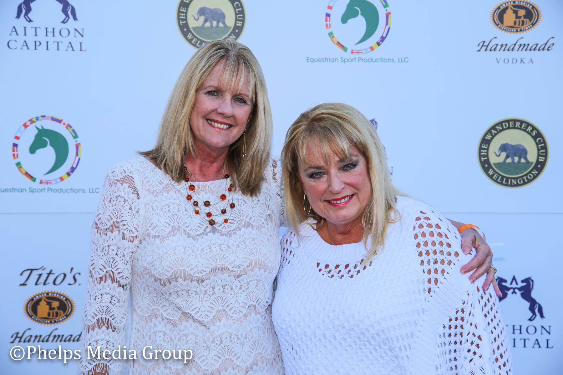Cindy Eisamen and Jeri Hazard; Nic Roldan's 2nd Annual Sunset Polo & White Party, FL, by Phelps Media.jpg