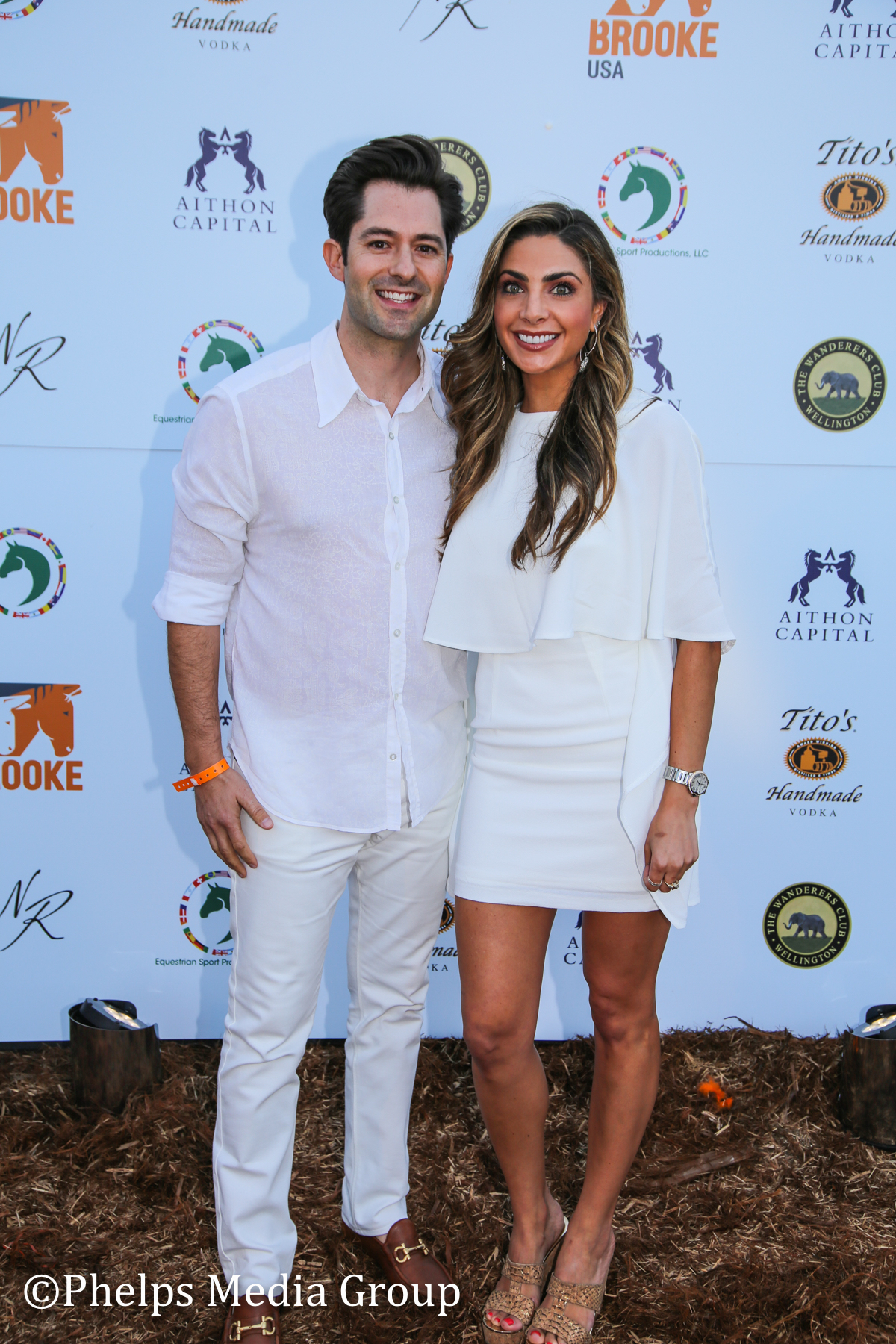 Dani Keith and Brent Stewart; Nic Roldan's 2nd Annual Sunset Polo & White Party, FL, by Phelps Media.jpg