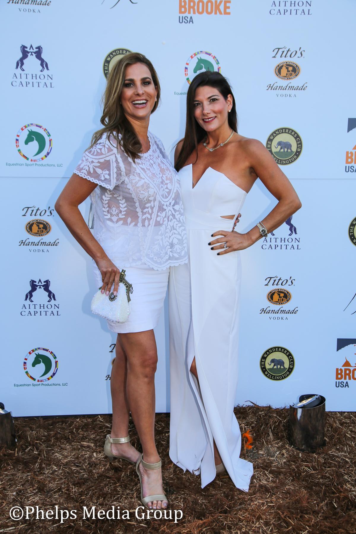 Deborah Lenchus and Dr LIsa Palmer; Nic Roldan's 2nd Annual Sunset Polo & White Party, FL, by Phelps Media.jpg