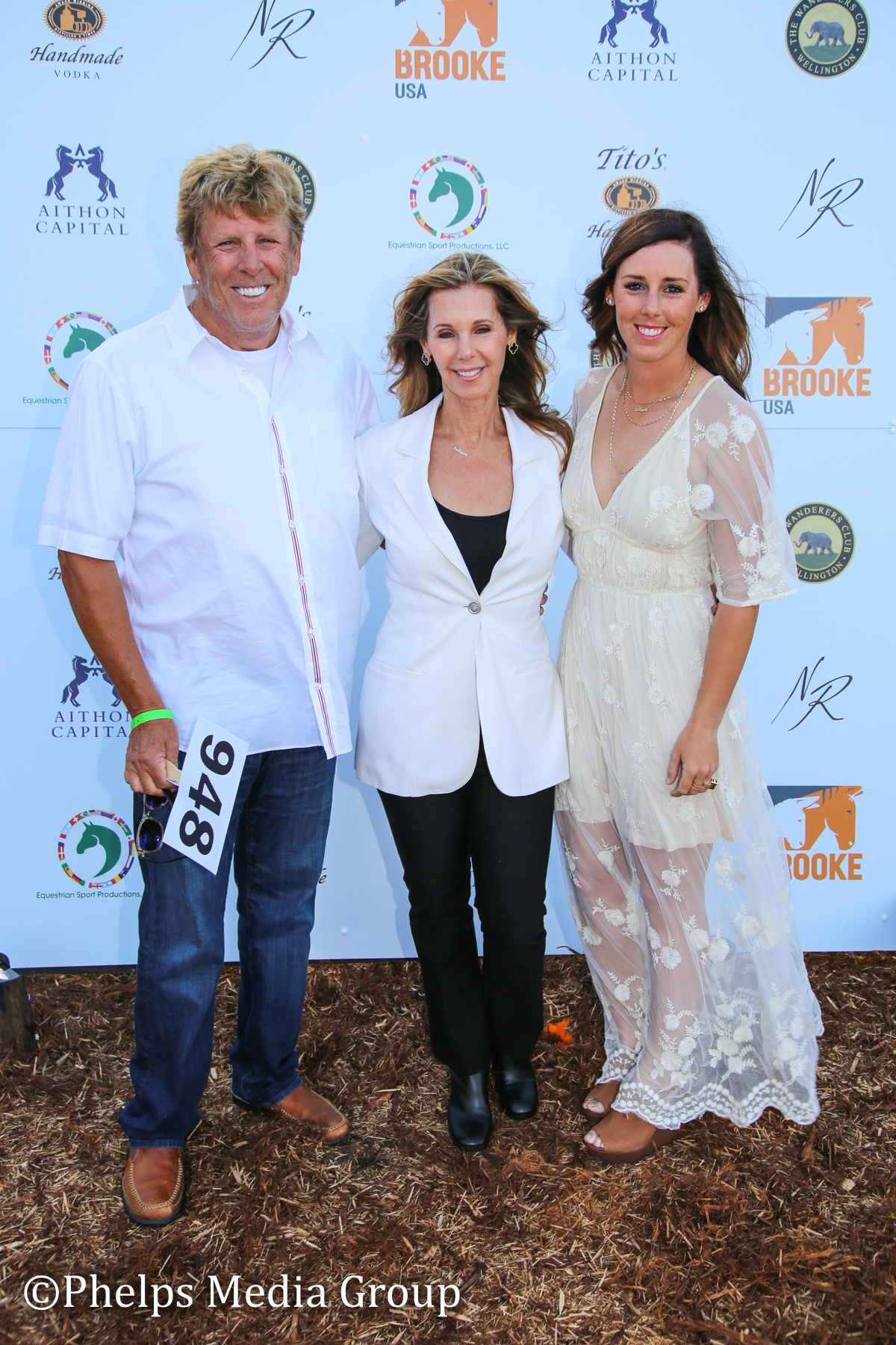 Diane and Robert Perry Kasey Perry-Glass; Nic Roldan's 2nd Annual Sunset Polo & White Party, FL, by Phelps Media.jpg