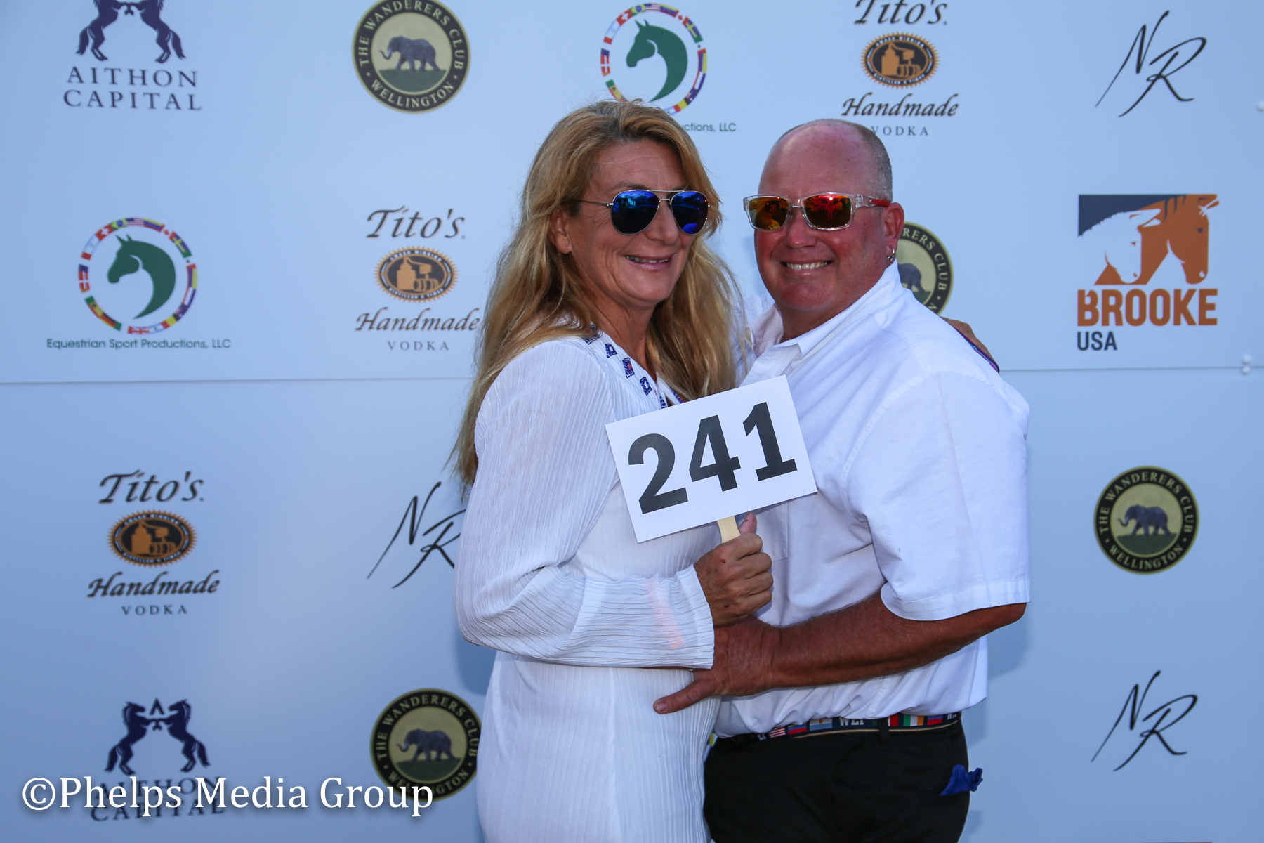 Jack and Josie Steding; Nic Roldan's 2nd Annual Sunset Polo & White Party, FL, by Phelps Media.jpg
