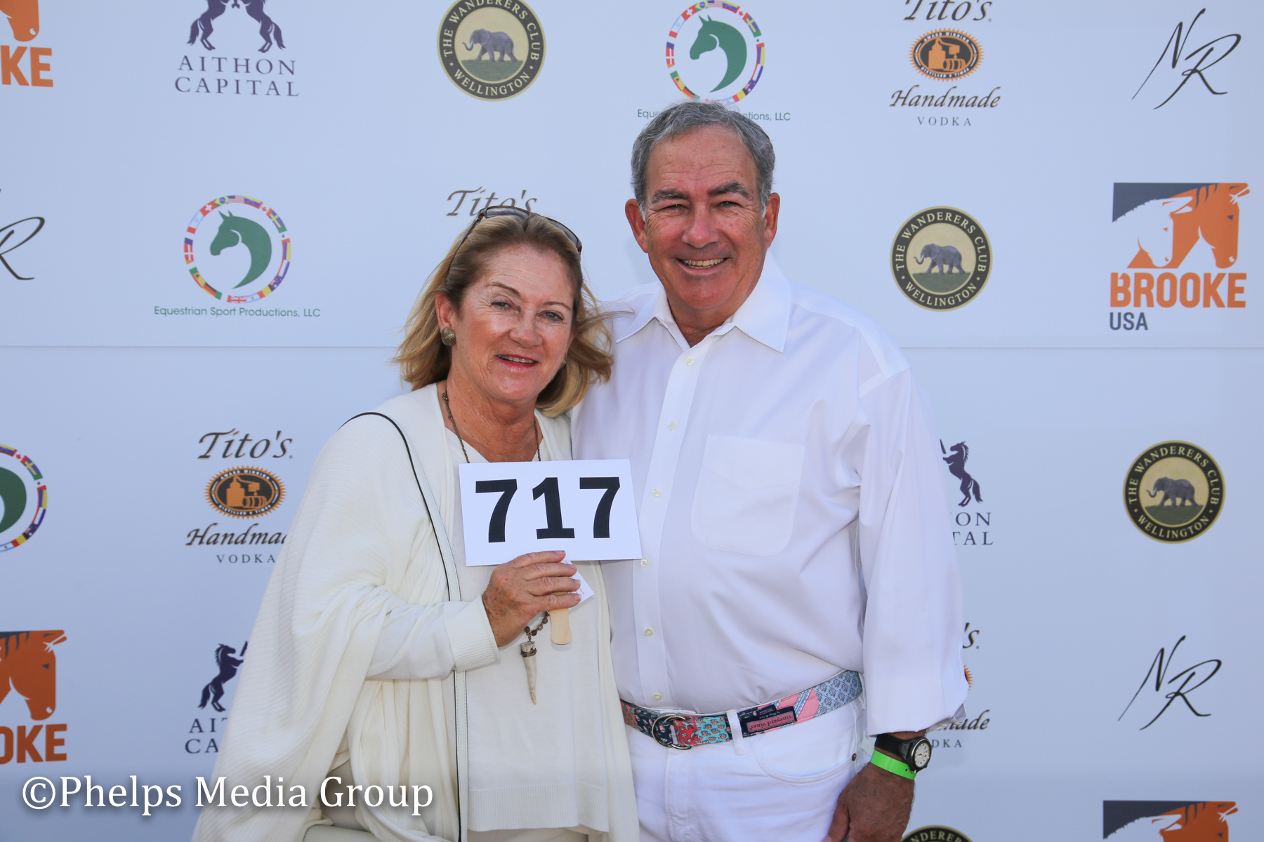 Jack Saunders and Michelle Grubb; Nic Roldan's 2nd Annual Sunset Polo & White Party, FL, by Phelps Media.jpg