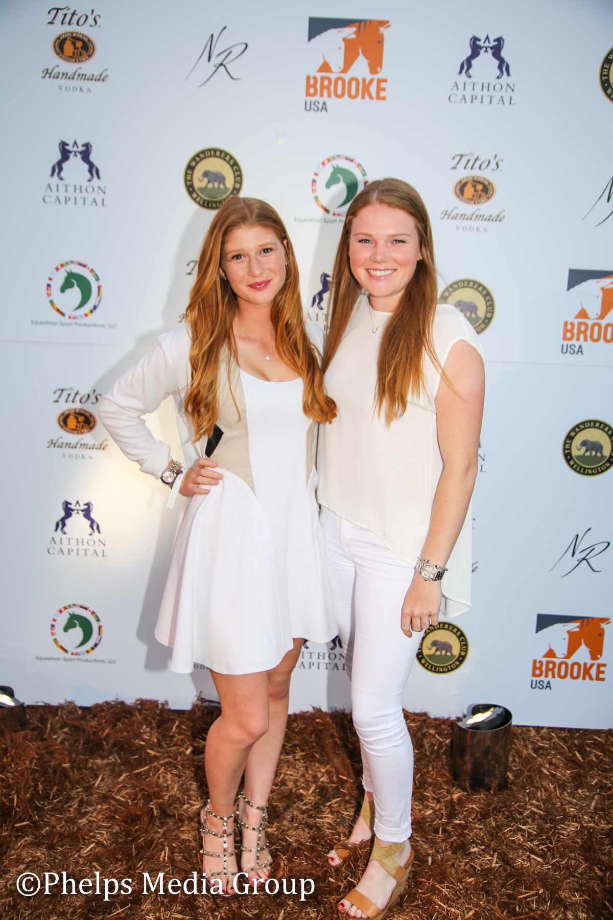 Jennifer Gates and Taylor Alexander; Nic Roldan's 2nd Annual Sunset Polo & White Party, FL, by Phelps Media (1).jpg