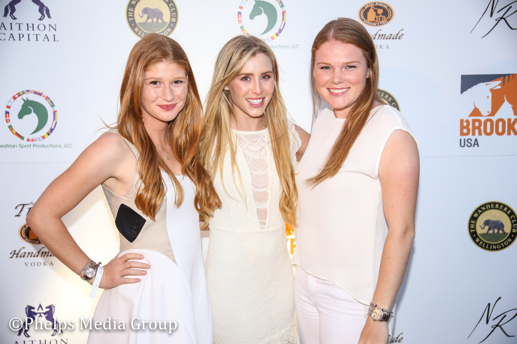 Jennifer Gates Paige Bellissimo and Taylor Alexander; Nic Roldan's 2nd Annual Sunset Polo & White Party, FL, by Phelps Media (2).jpg