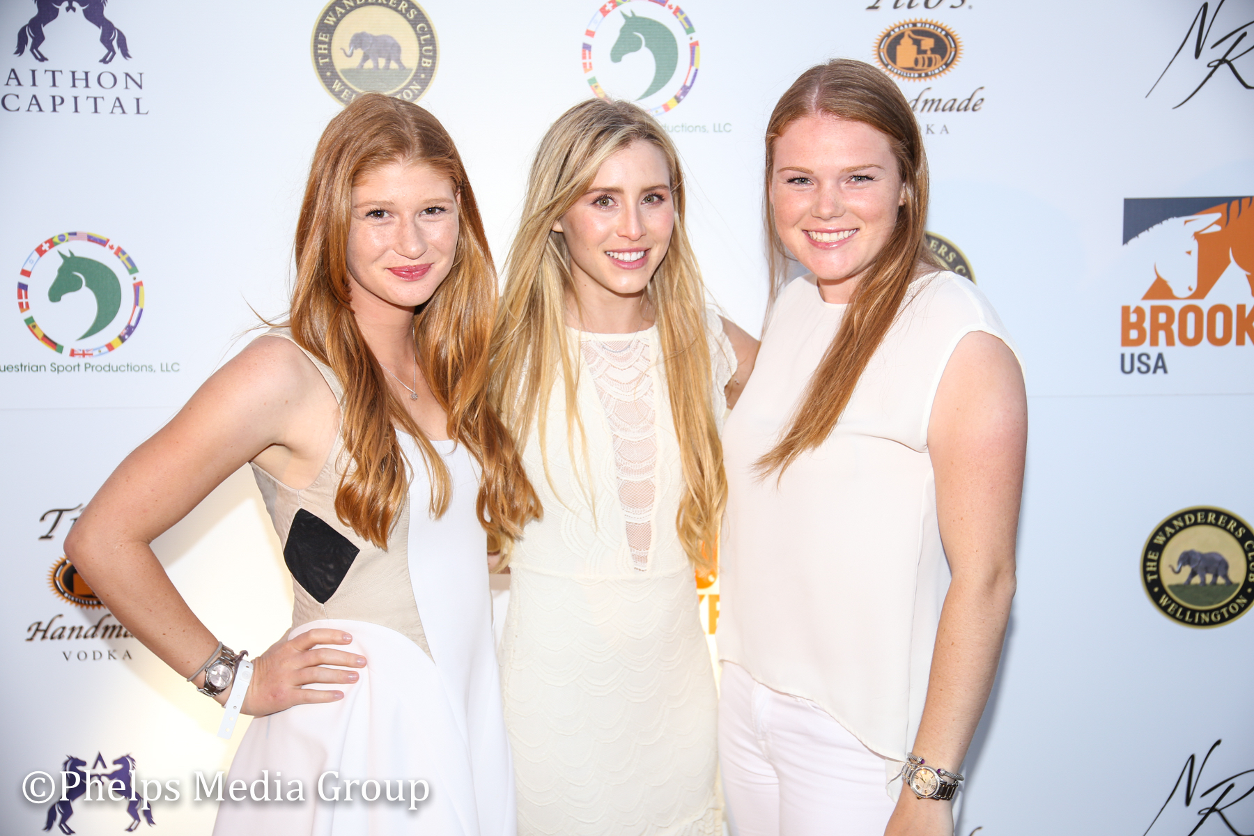 Jennifer Gates Paige Bellissimo and Taylor Alexander; Nic Roldan's 2nd Annual Sunset Polo & White Party, FL, by Phelps Media.jpg