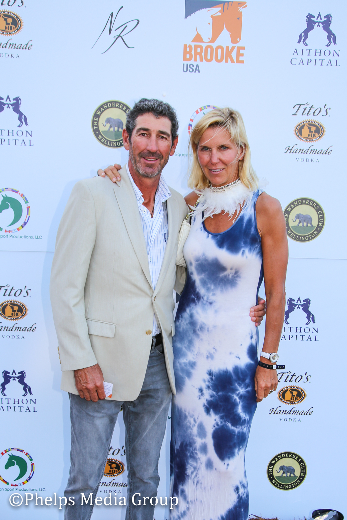 Jennifer Williams and Julian Applebee; Nic Roldan's 2nd Annual Sunset Polo & White Party, FL, by Phelps Media.jpg