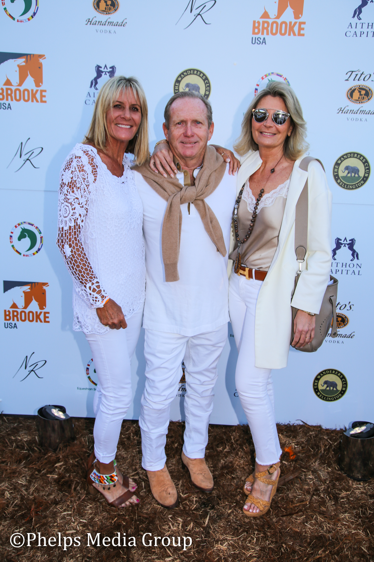 Jessie Coppola Martin and Stephanie Brown; Nic Roldan's 2nd Annual Sunset Polo & White Party, FL, by Phelps Media.jpg