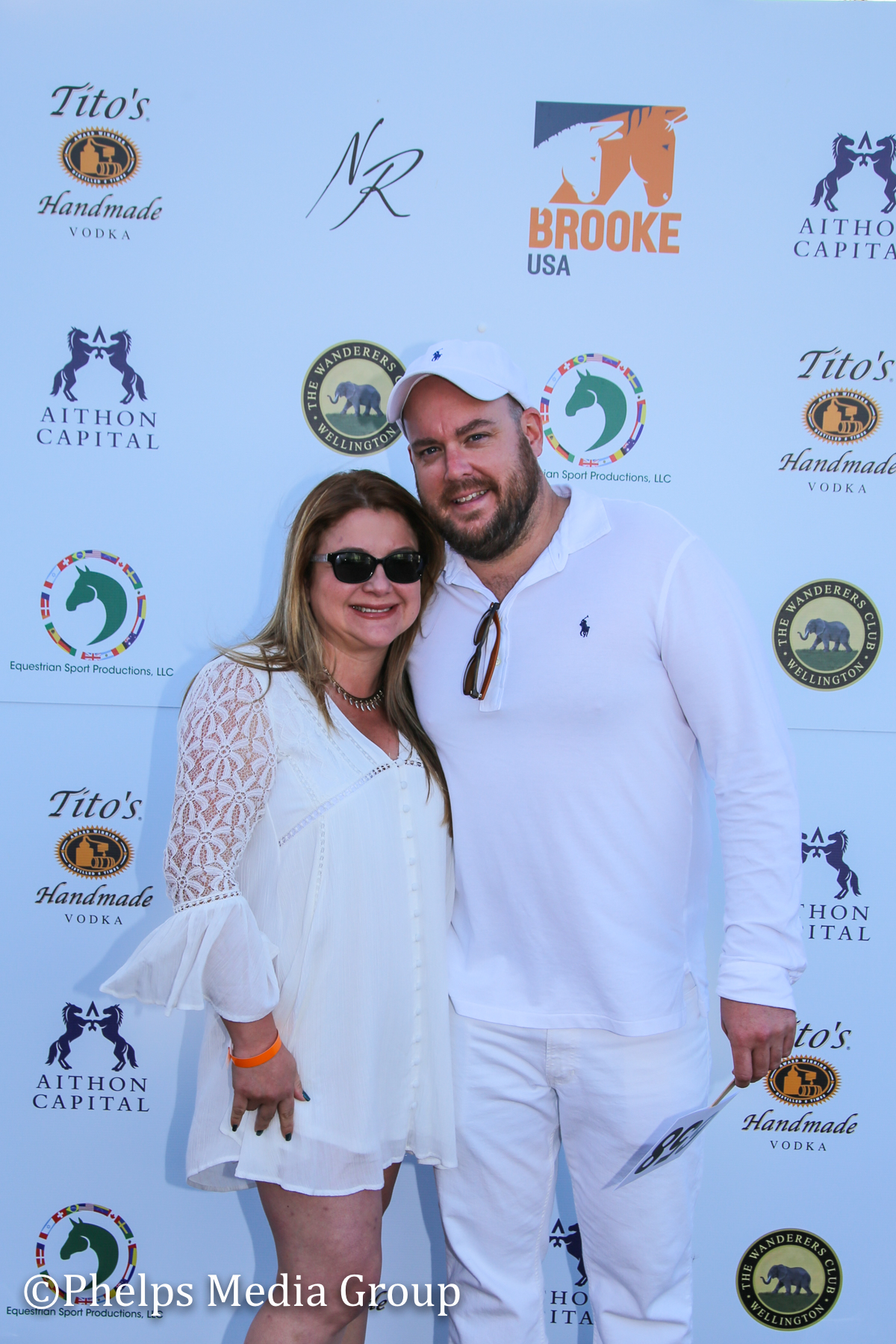 John and Erika Merrigan; Nic Roldan's 2nd Annual Sunset Polo & White Party, FL, by Phelps Media.jpg