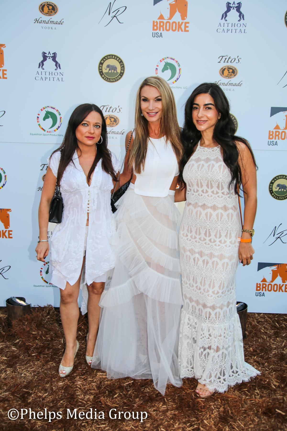 Lana Sukhman Christina Sagman and Rema Nagi; Nic Roldan's 2nd Annual Sunset Polo & White Party, FL, by Phelps Media.jpg